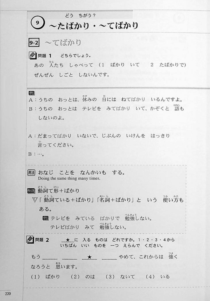 The Preparatory Course for the JLPT N4 Reading Page 220