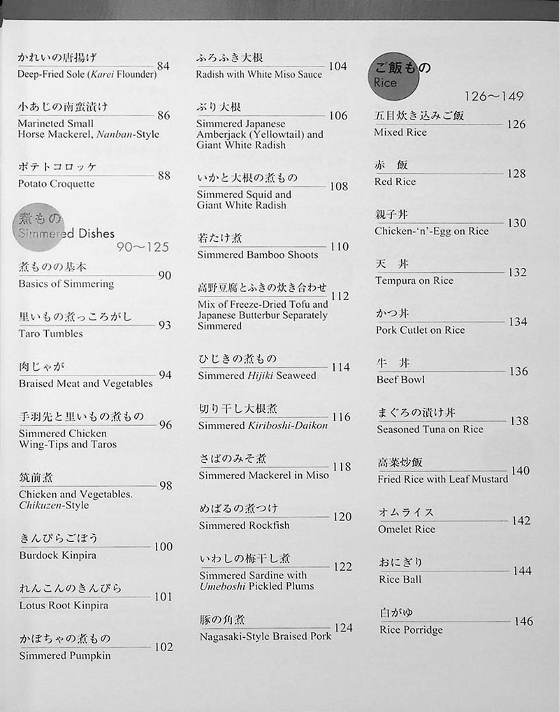 Recipes of Japanese Cooking Page 4