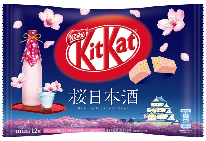 Sakura Sake Flavored Kit Kats