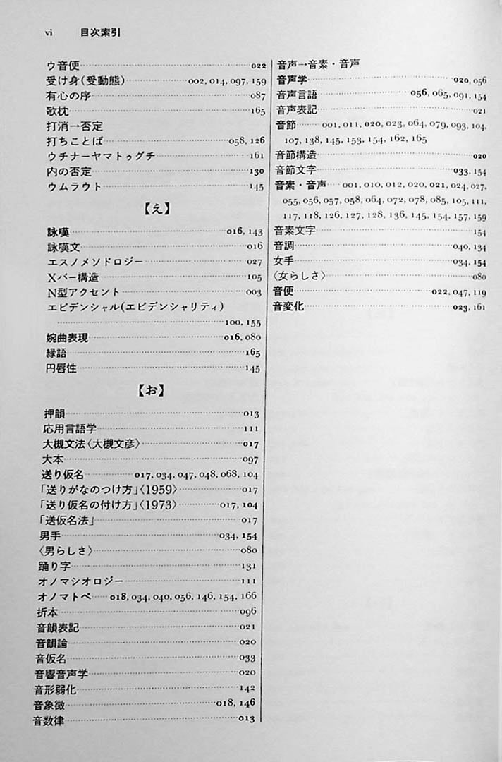 The Sanseido Dictionary of Japanese Linguistics Page 6
