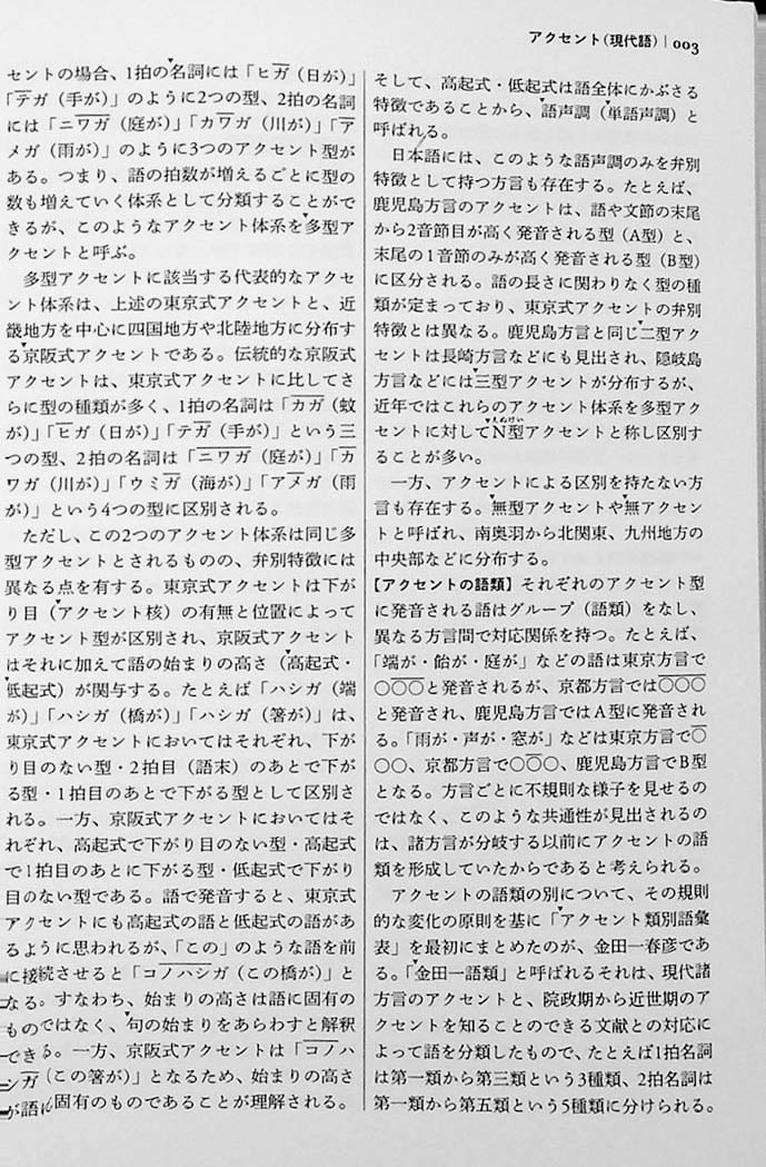 The Sanseido Dictionary of Japanese Linguistics Page 3