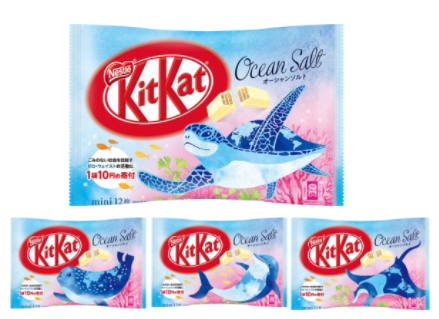 Kit Kat - Ocean Sea Salt Flavor