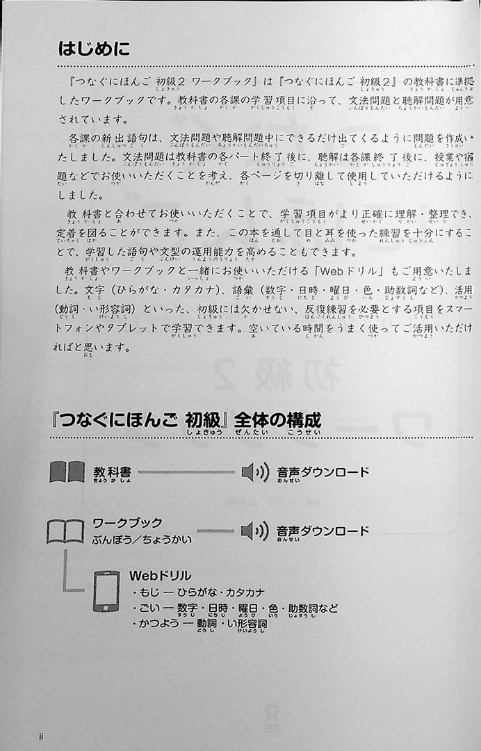 Tsunagu Workbook Volume 2 Page 2