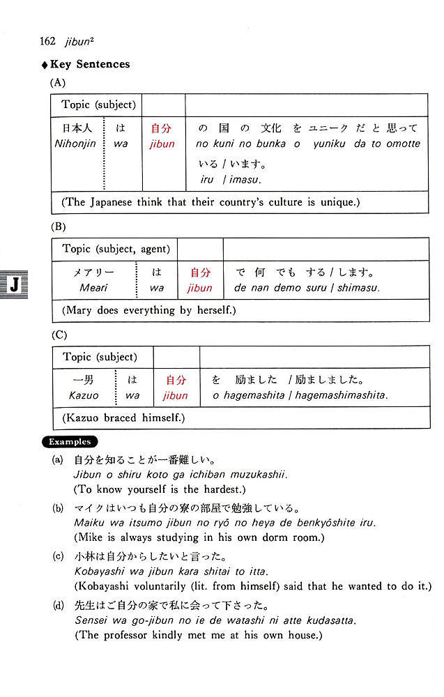 A Dictionary of Basic Japanese Grammar page 162