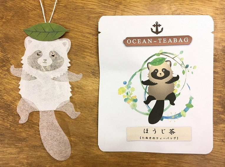 Raccoon Tea by Ocean Tea Bag