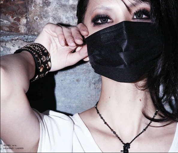 B.M Black Surgical Face Mask (2 x 5 masks) - White Rabbit Japan Shop - 3