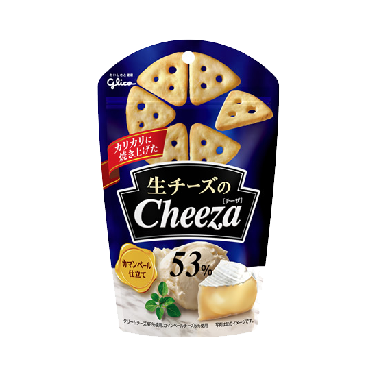 Cheeza Cheese Crackers Camembert Flavor