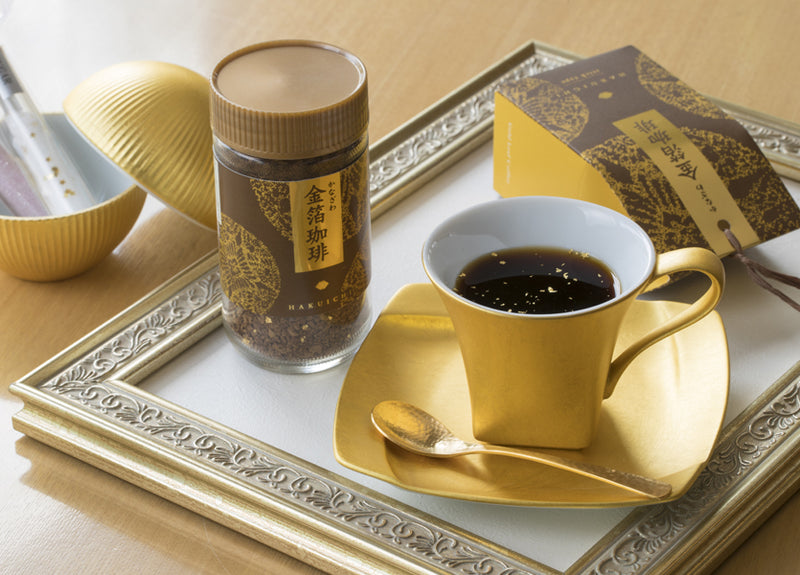 Hakuichi Gold Leaf Coffee