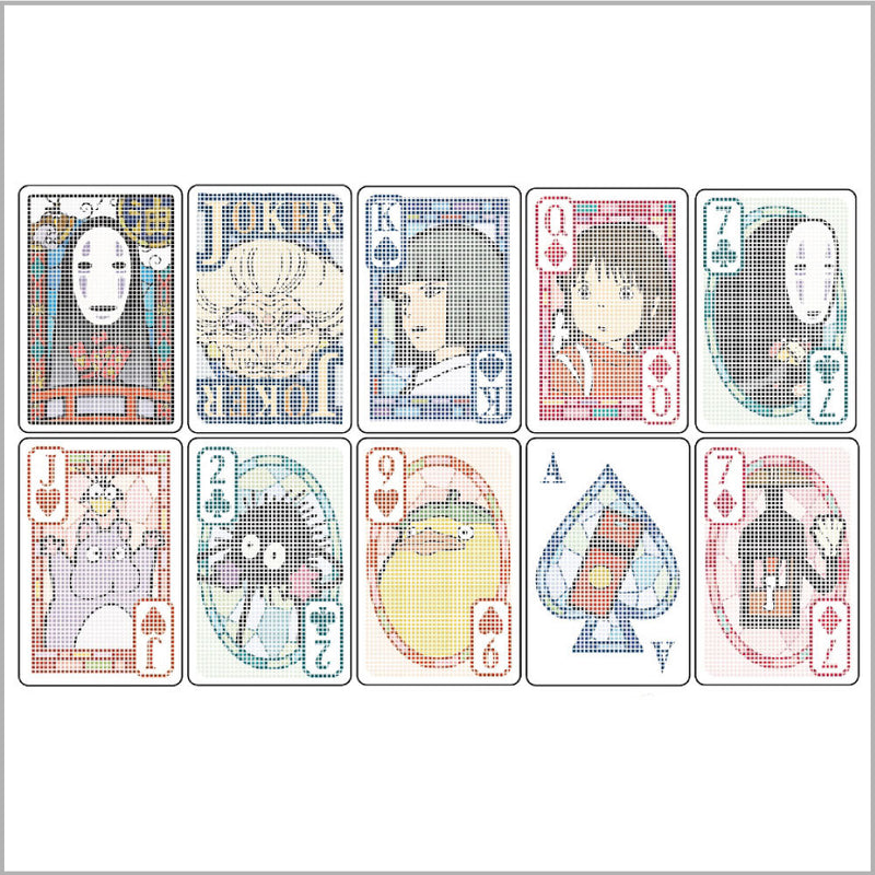 Spirited Away Playing Cards
