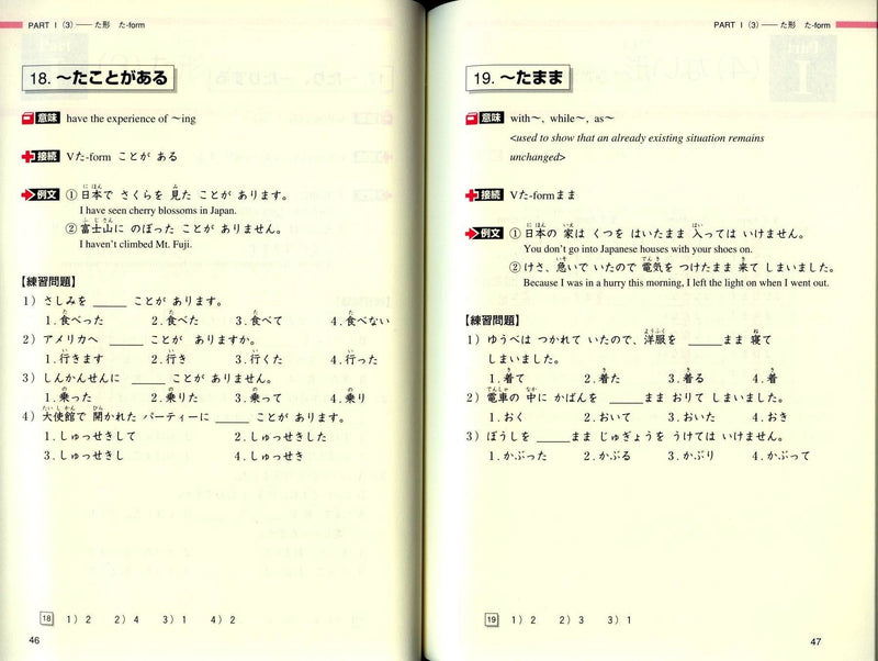 Do It Yourself: Japanese Grammar Review (Beginner-Level) - White Rabbit Japan Shop - 3