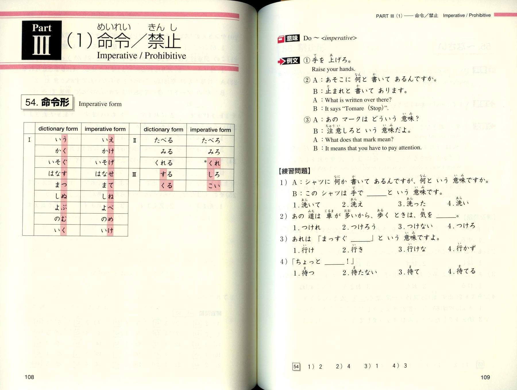 Do It Yourself: Japanese Grammar Review (Beginner-Level) – White ...