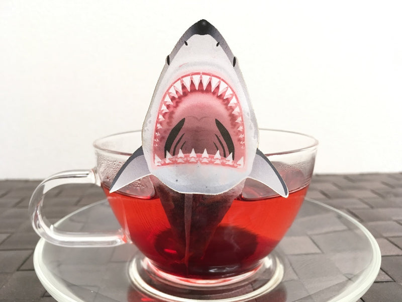 Shark Hibiscus Tea by Ocean Tea Bag