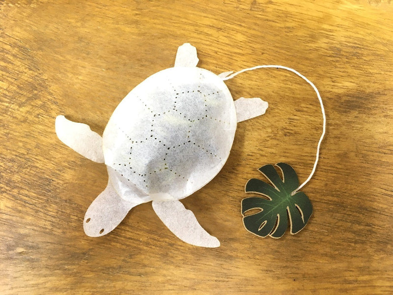 Sea Turtle Blue Jasmine Tea by Ocean Tea Bag