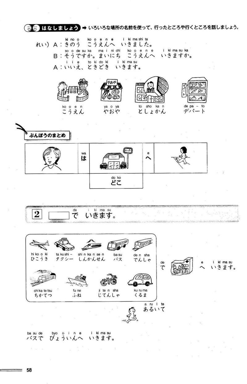 Hop, Step, and Jump for Beginner Japanese 1 (Ippo Nihongo Sanpo) - White Rabbit Japan Shop - 4