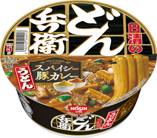 Spicy Pork Curry Udon Bowl