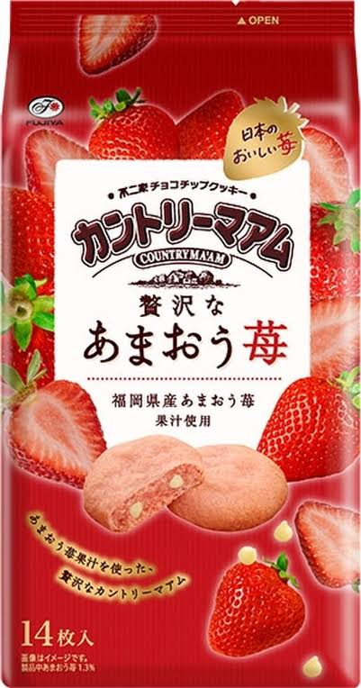 Country Ma'am Soft Cookies - Amaou Strawberry