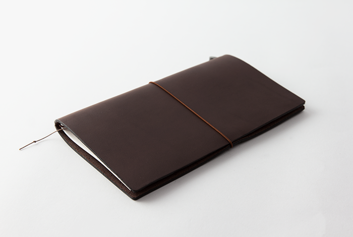 Traveler's Company Leather Notebook (Brown, Camel or Blue)
