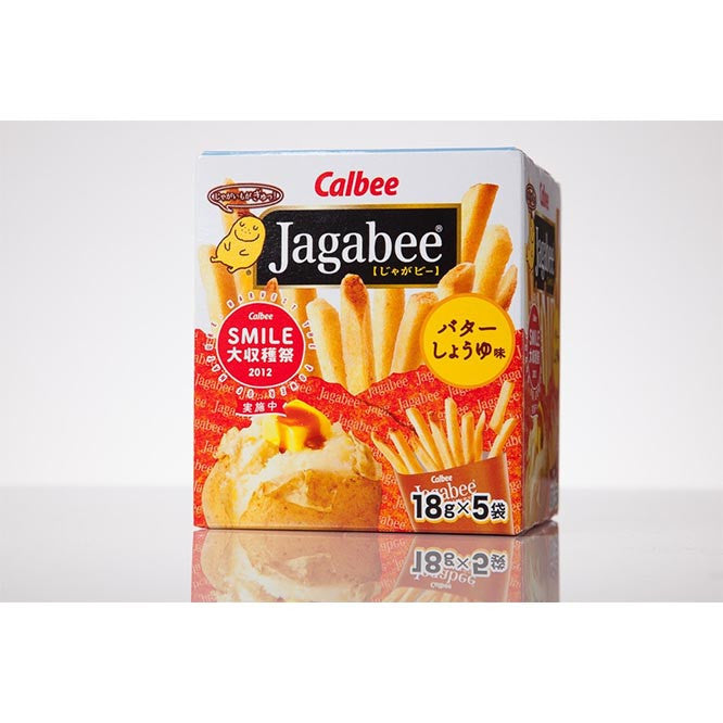 Jagabee Butter Soy Sauce Flavor - White Rabbit Japan Shop