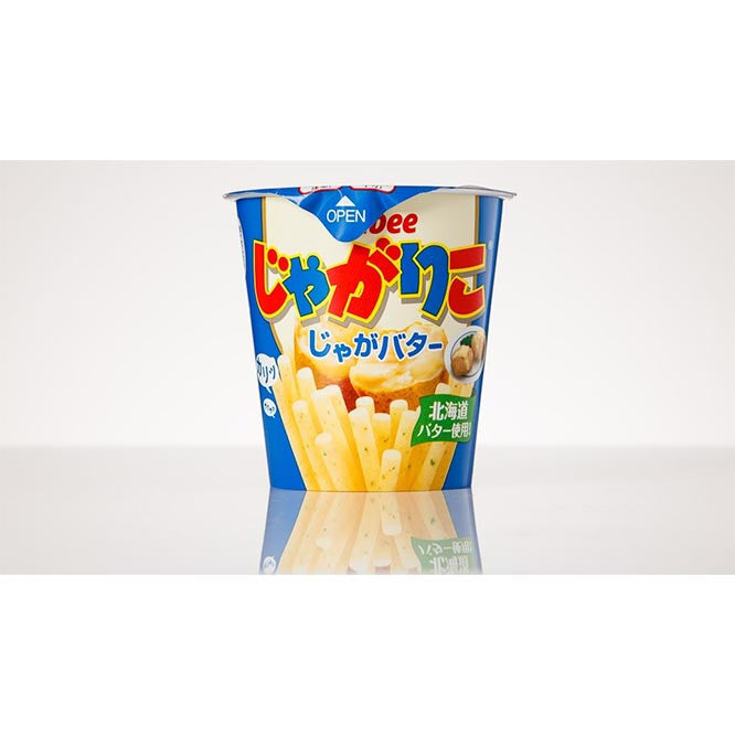 Jagariko Potato Sticks - Butter Flavor - White Rabbit Japan Shop