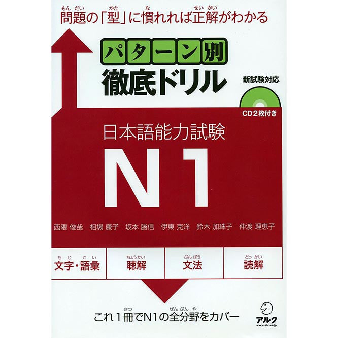 JLPT N1 Comprehensive Exam Exercises (Tettei Drill) - White Rabbit Japan Shop - 1