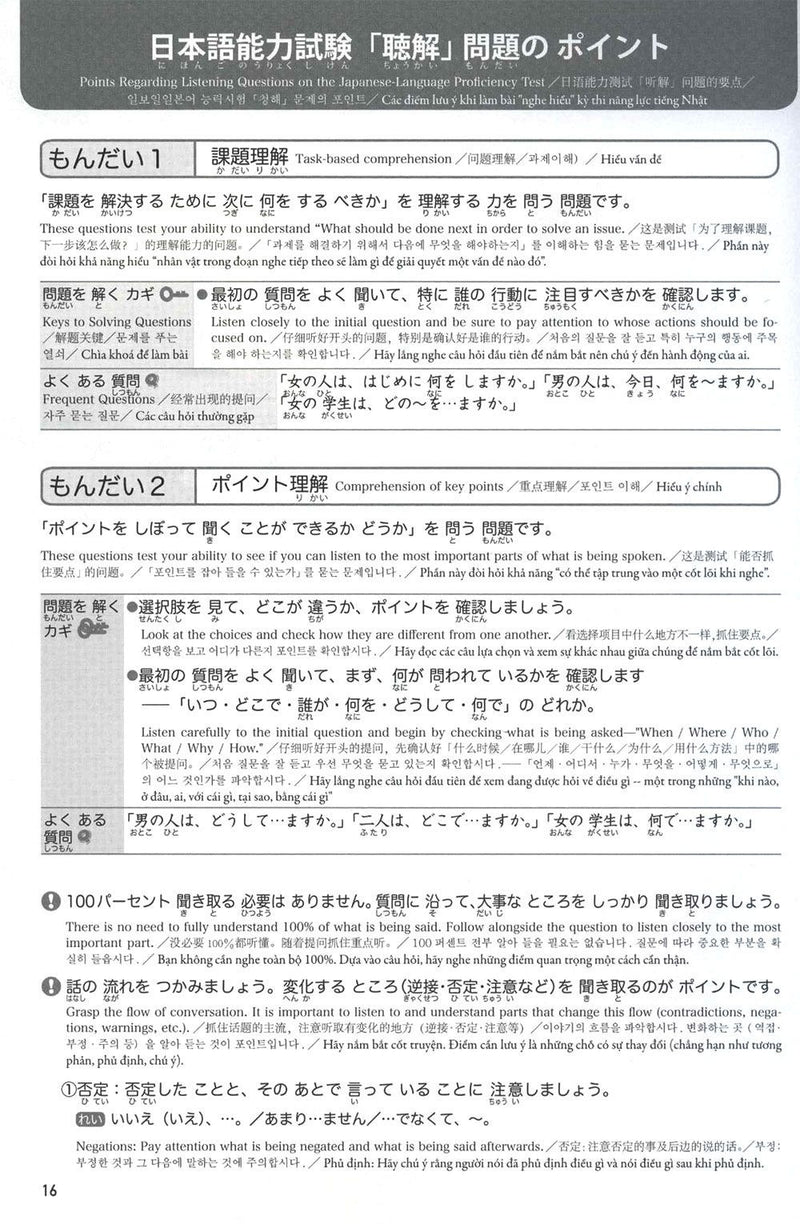 JLPT Speed Master N5: Listening Comprehension - White Rabbit Japan Shop - 2