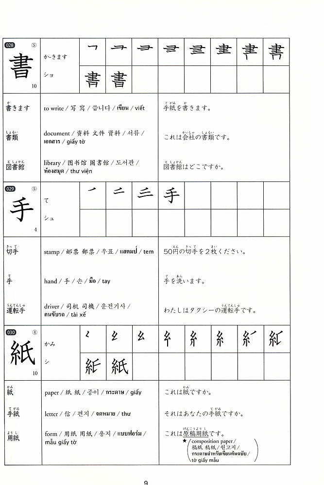 Kanji Practice in 15 Minutes a Day: Beginning and Early Intermediate Characters Book 1 - White Rabbit Japan Shop - 4