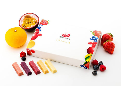 Chocolatory Deluxe KitKat I Love Fruits Set