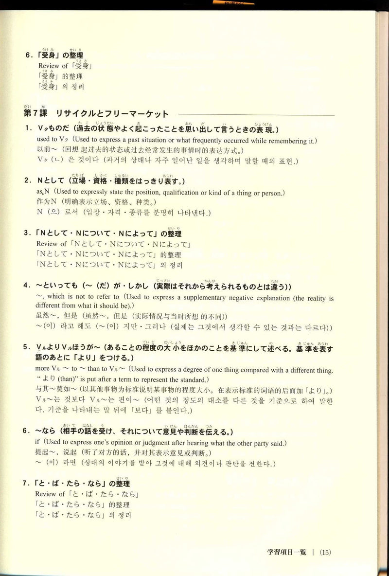 Let's go to Intermediate! For Grammar and Expression (w/CD) - White Rabbit Japan Shop - 6