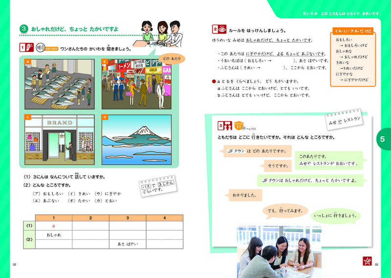 Marugoto Elementary 1 A2 Katsudoo: Coursebook for communicative language activities - White Rabbit Japan Shop - 7