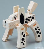 Mojibakeru Transformer Kanji-Animals Variety Pack: Set of 3 - White Rabbit Japan Shop - 3