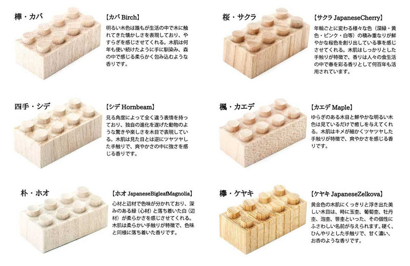 Mokulock Kodomo Wooden Bricks - White Rabbit Japan Shop - 7