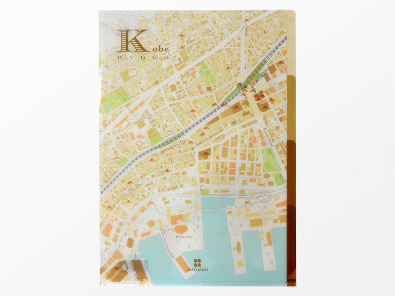 Japan Map File Folder (9 Maps Available)