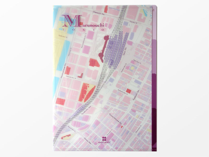 Japan Map File Folder (Various Styles Available)