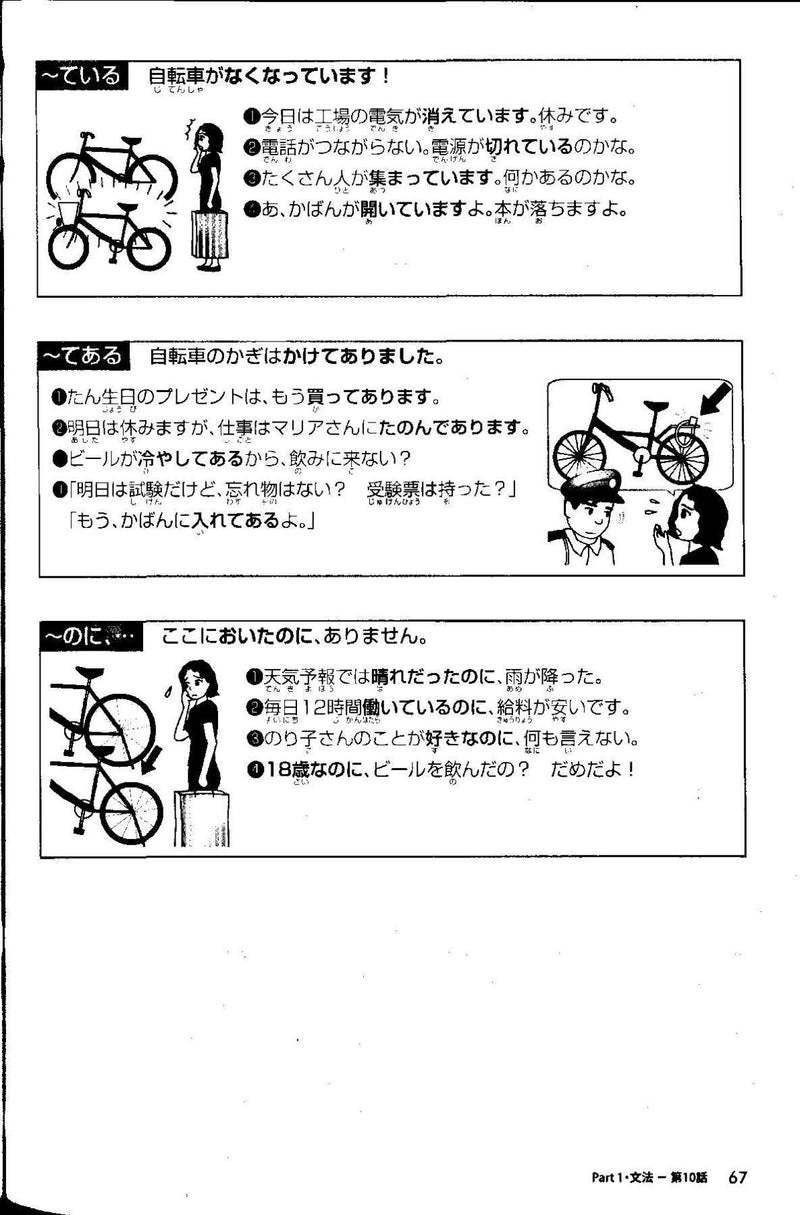 Nihongo Challenge for JLPT N4 Grammar & Reading Practice - White Rabbit Japan Shop - 3