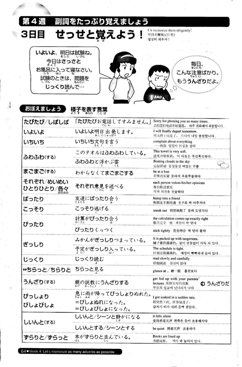 Nihongo So-matome JLPT N2: Vocabulary  Page 64