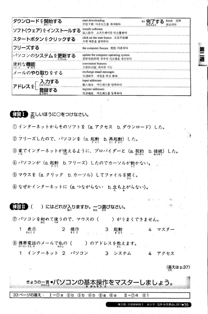 Nihongo So-matome JLPT N2: Vocabulary  Page 33