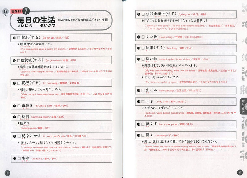 Quick Mastery of Vocabulary - In Preparation for JLPT N2 - White Rabbit Japan Shop - 2