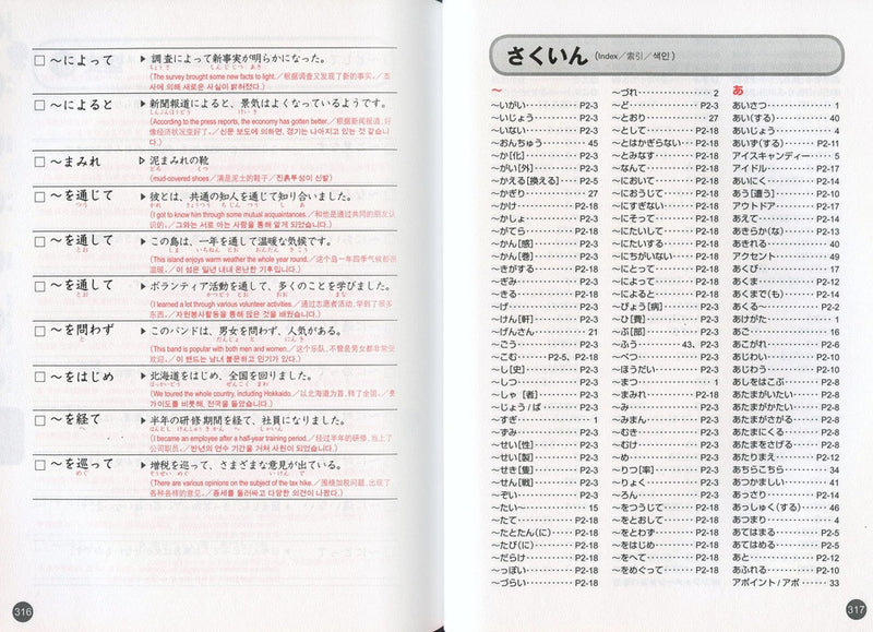 Quick Mastery of Vocabulary - In Preparation for JLPT N2 - White Rabbit Japan Shop - 4
