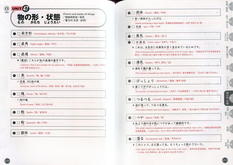 Quick Mastery of Vocabulary - In Preparation for JLPT N2 - White Rabbit Japan Shop - 3