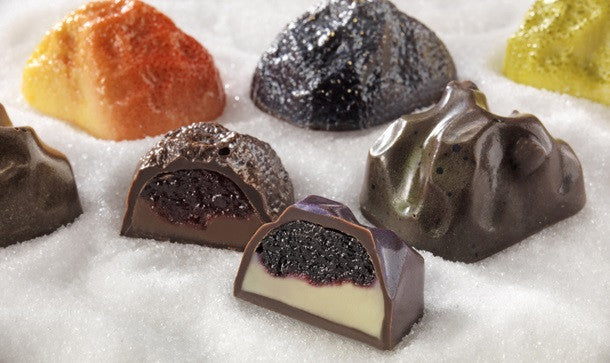 Rihga Chocolate Meteorites Pralines Kiseki - White Rabbit Japan Shop - 2