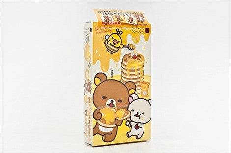 "Rilakkuma ""Honey"" Condoms by Okamoto - White Rabbit Japan Shop - 4"