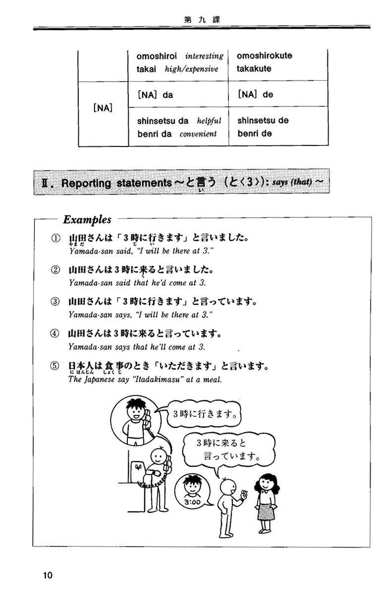Situational Functional Japanese Volume 2 Notes - White Rabbit Japan Shop - 6