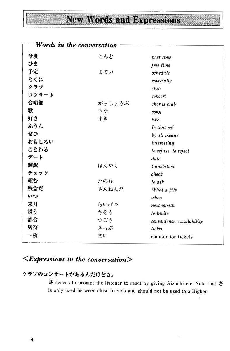 Situational Functional Japanese Volume 3 Notes - White Rabbit Japan Shop - 4