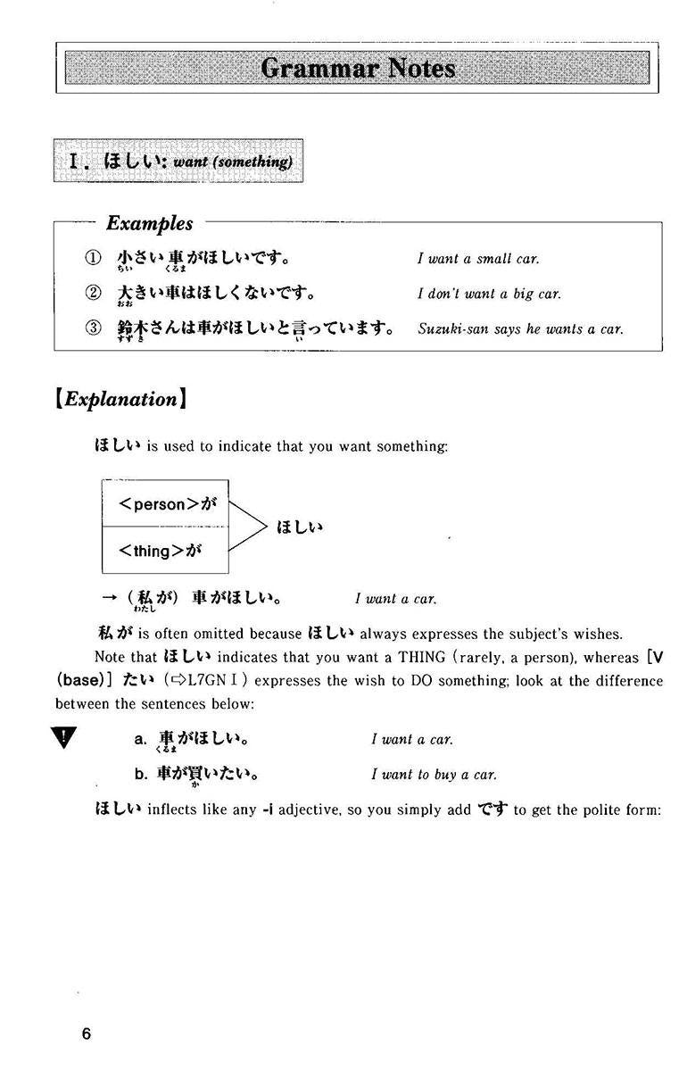 Situational Functional Japanese Volume 3 Notes - White Rabbit Japan Shop - 6