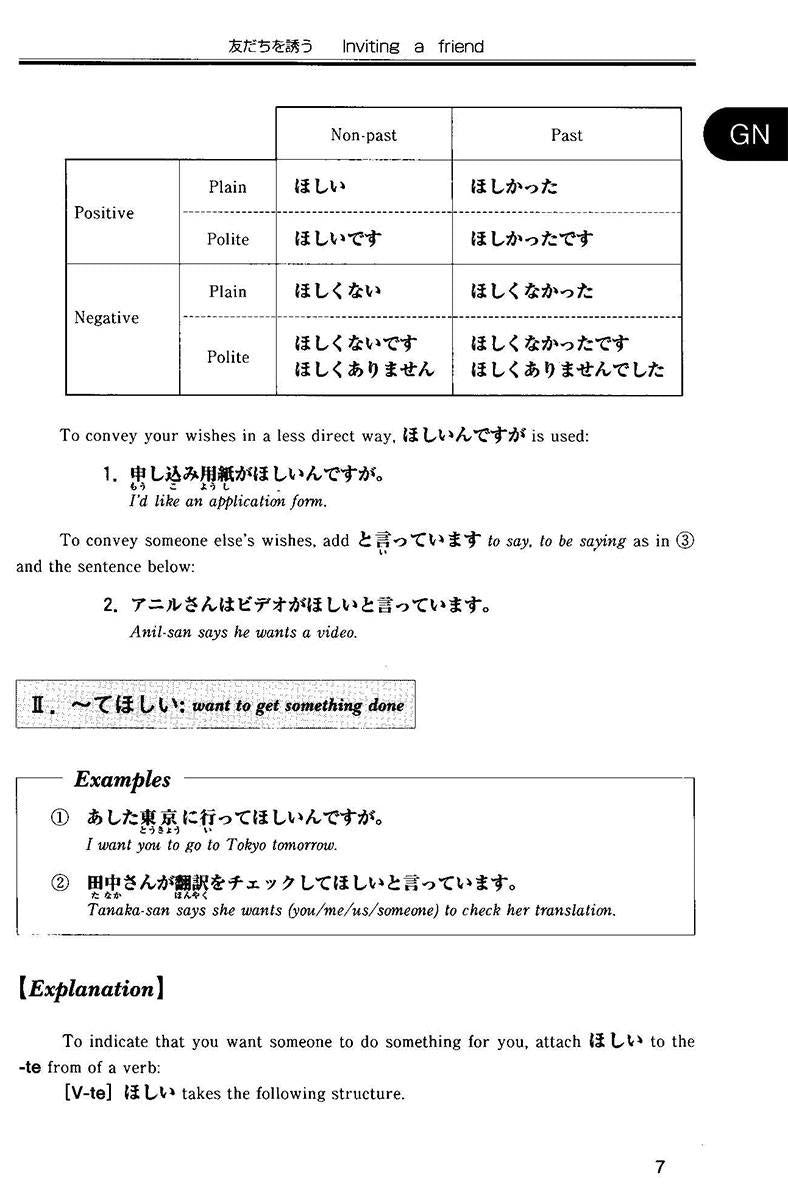 Situational Functional Japanese Volume 3 Notes - White Rabbit Japan Shop - 7