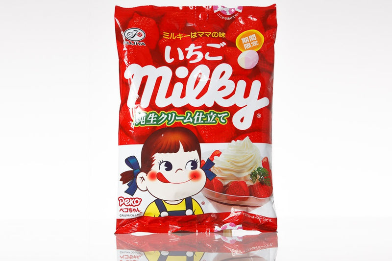 Strawberry Milky Candies by Fujiya - White Rabbit Japan Shop
