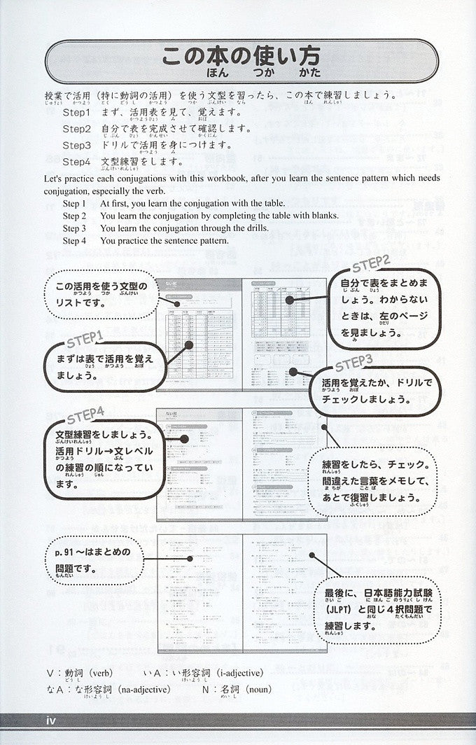 Thorough Usage Conjugation Drills - White Rabbit Japan Shop - 2