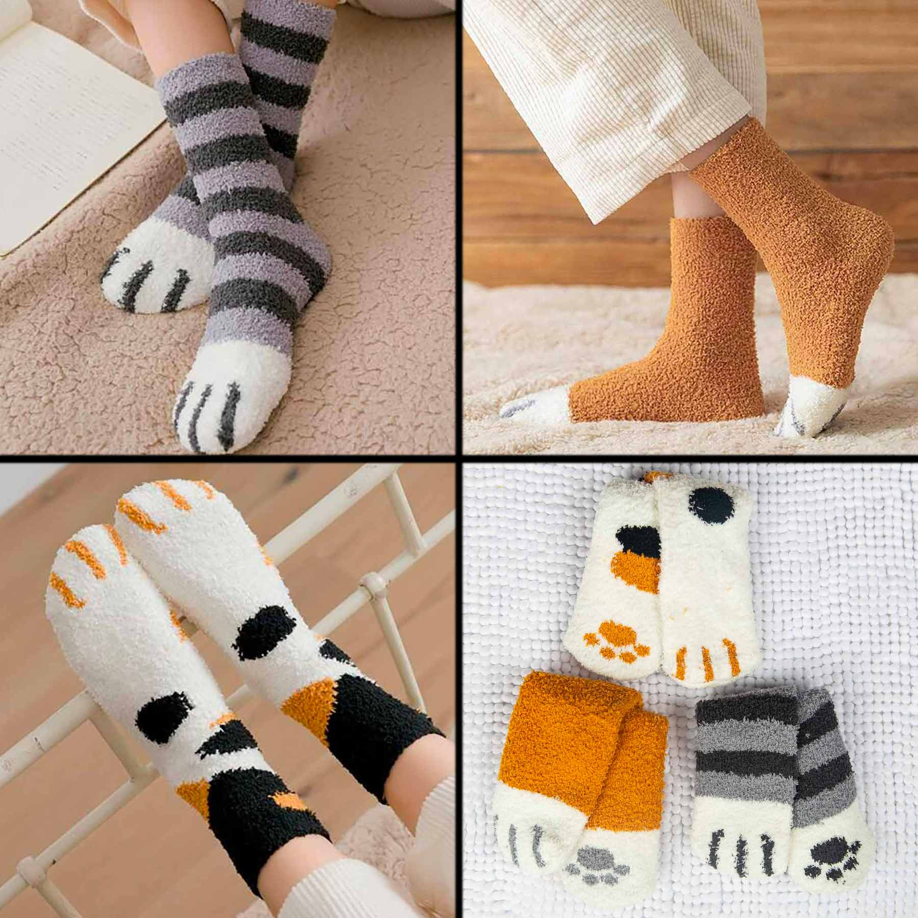 Cozy Paws socks at Cat Lady Box