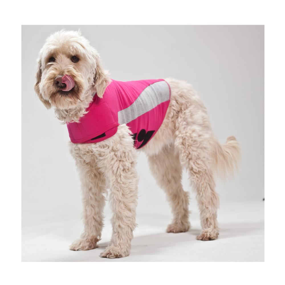 ThunderShirt dog anxiety vest in pink at Scollar Personalized Pet Marketplace