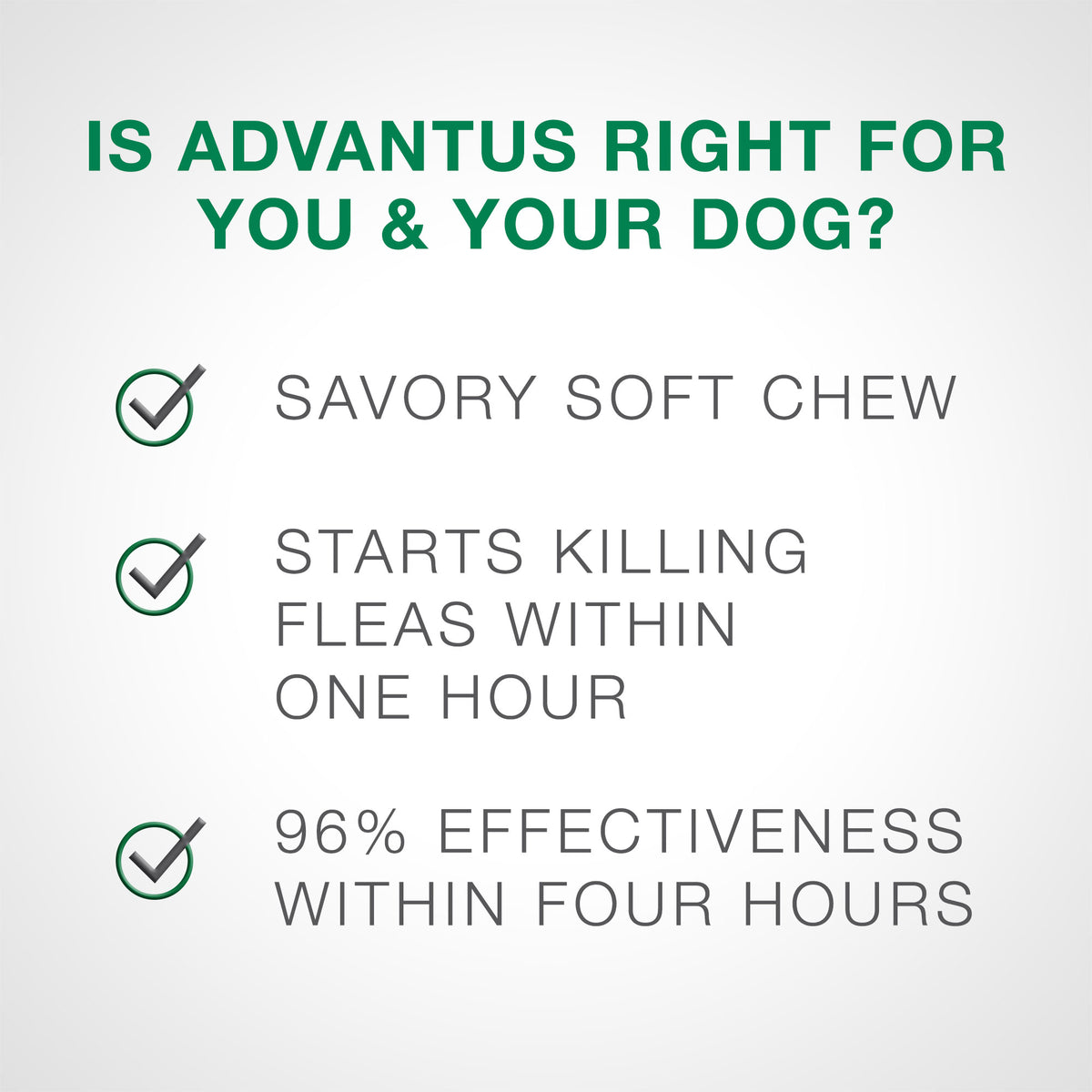 Advantus® Soft Chews 7.5 mg for Small to Medium Dog 30 Count